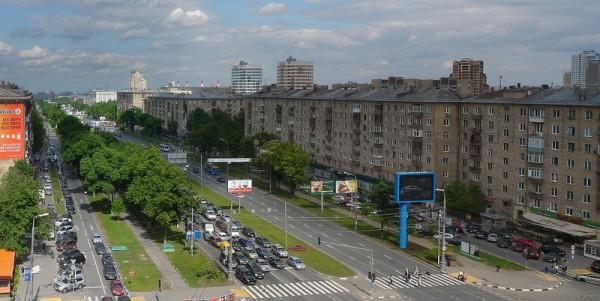 Ленинский проспект 2013 г.