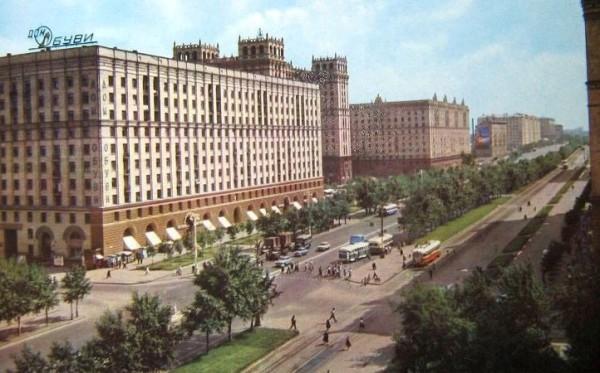 Проспект Мира 50 лет назад