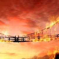 сжечь мосты