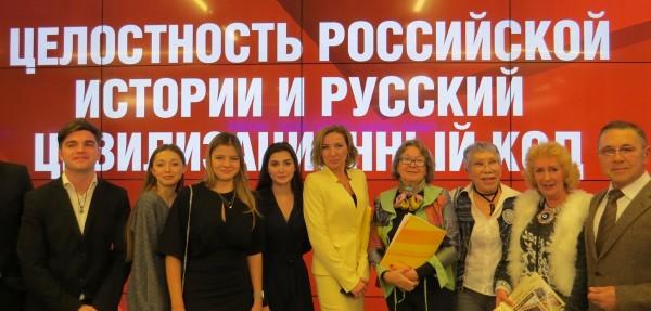 Студенты факультета журналистики ИГСУ РАНХиГС на Зиновьевском клубе.